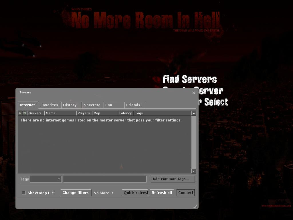 No Servers Help Support No More Room In Hell Community