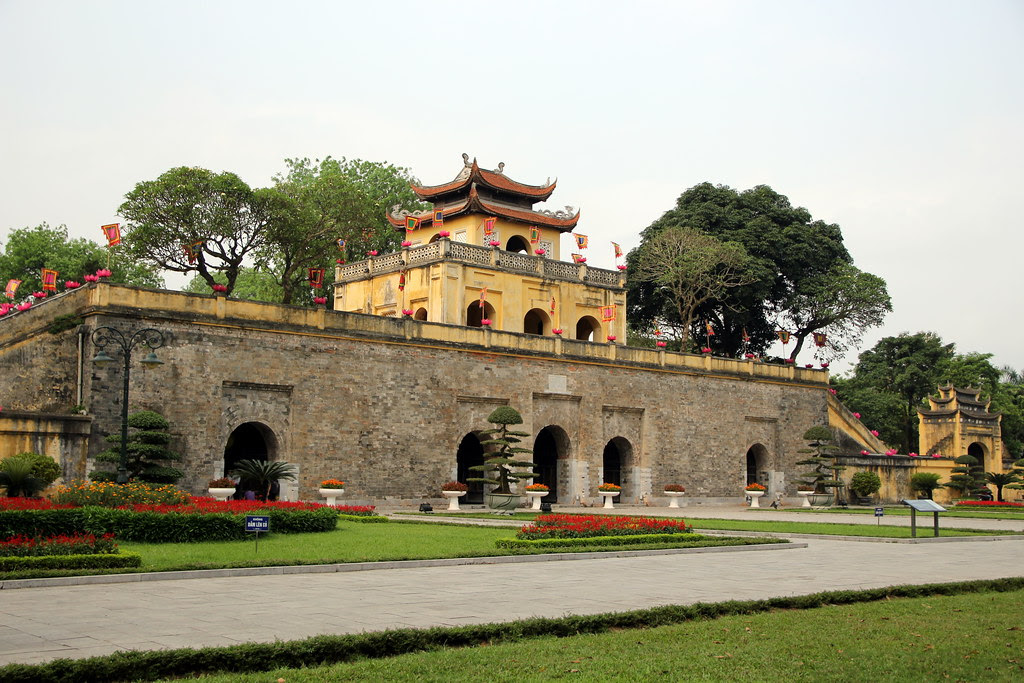 Hanoi's ancient citadel