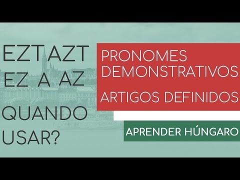 Estudar Húngaro - Pronomes Demonstrativos e Artigos Definidos