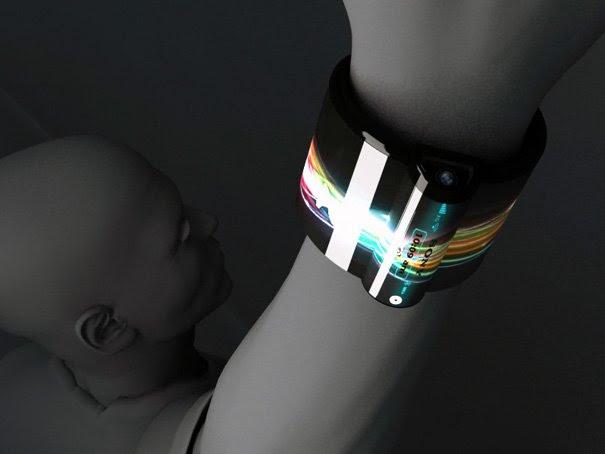 Computadores em forma de pulseiras