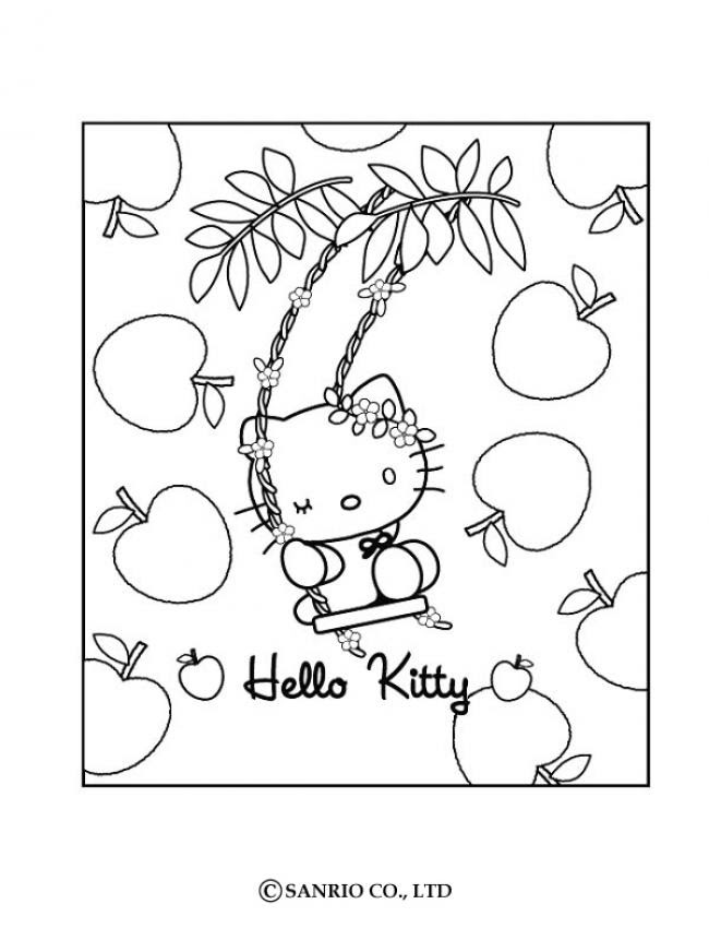 zapegato 1: hello kitty happy easter coloring pages