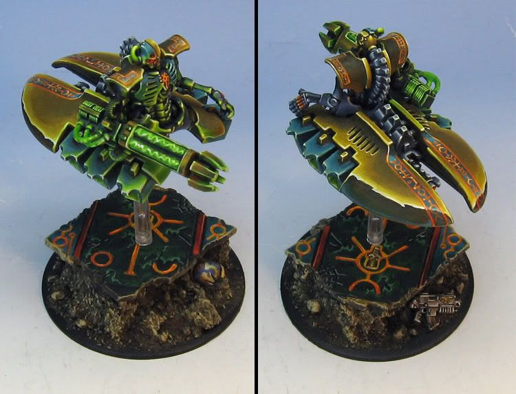 Necron Destroyer Top View