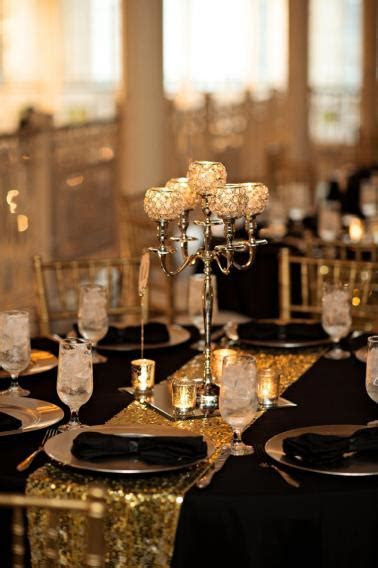 Elegant Black, White & Gold Wedding   Every Last Detail