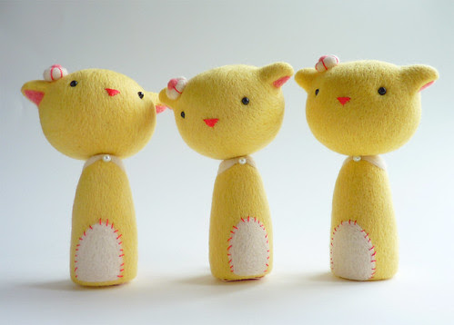 Kokeshi Kittens