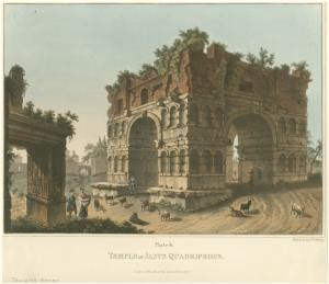Temple of Janus Quadrifrons. Digital ID: 1625095. New York Public Library