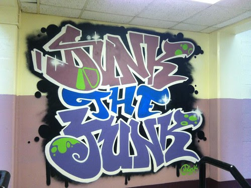 http://www.mikerichdesign.com/  DUNK THE JUNK  ATLANTA by Muy Rico