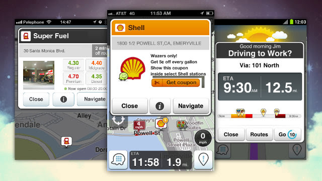Click here to read Waze Helps You Find the Cheapest, Closest Gas Station With Its Updated Turn-by-Turn Navigation
