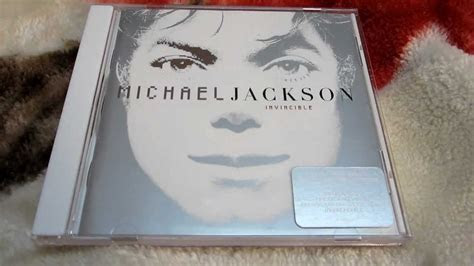 michael jackson invincible white cover cd unboxing youtube