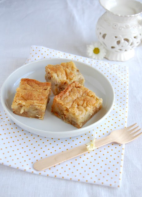 Banana blondies / Blondies de banana