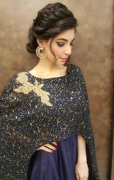 24 Great Style Hair Style For Woman On Gown