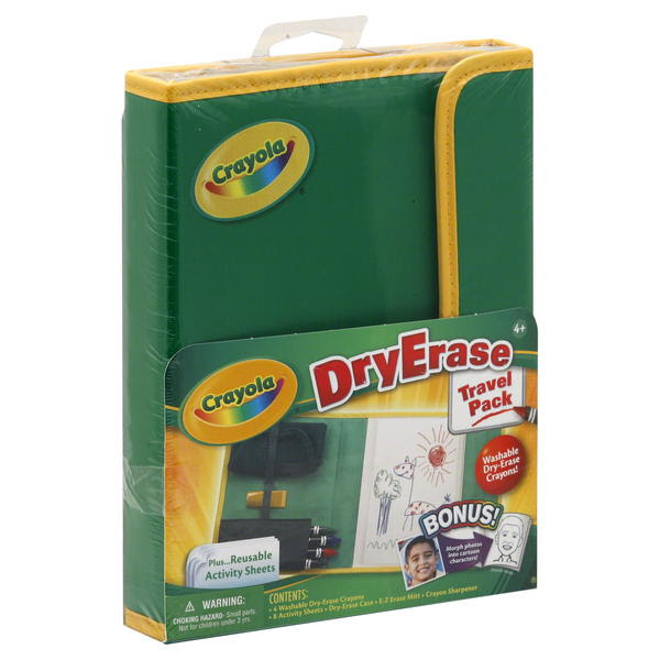 Download Crayola Dry-Erase Travel Pack, 1 pack - Toys & Games ...