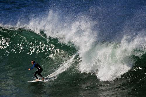 Damien Oliver surfing at Jan Juc, Torquay, Victoria, Australia IMG_3498_Torquay_Jan_Juc