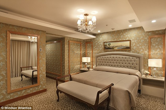 Fit for a king: The hotel has two Presidential Suites