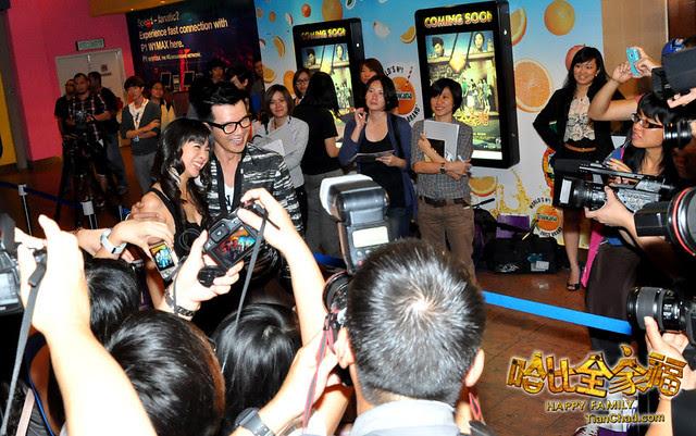 NTV7 Happy Family 哈比全家福 CNY Screening Red Carpet | TianChad.com