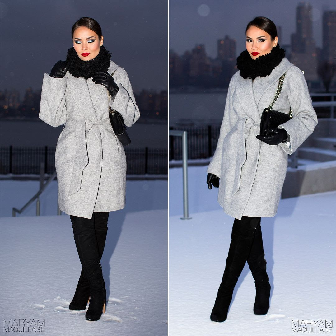 Maryam Maquillage: Winter Makeup & Fashion: The Snow Queen