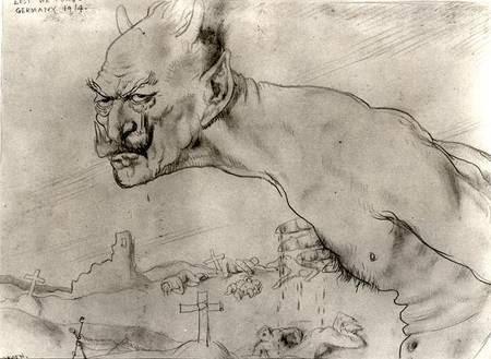 File:William Orpen Kaiser Wilhelm as the Devil.jpg