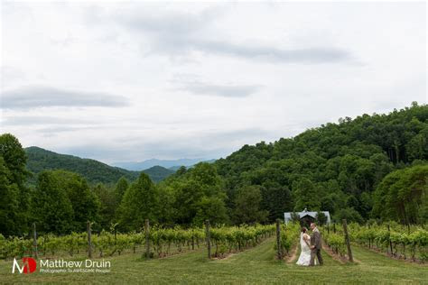 Wedding Venue The Vineyards At Betty's Creek North Carolina