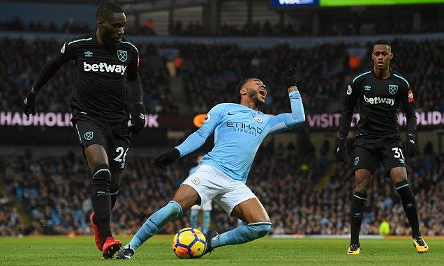 Manchester City vs West Ham United LIVE Premier League ...