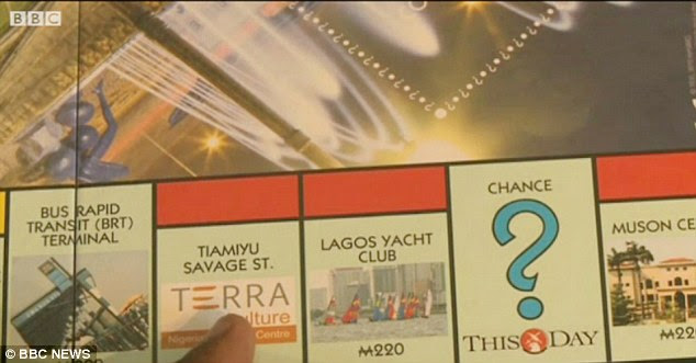Prime real estate: Bus Rapid Transit Terminal, Tiamiyu Savage St and Lagos Yacht Club are among some of the other destinations that feature