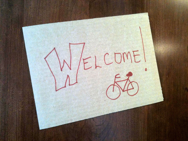 a better way to greet visitors