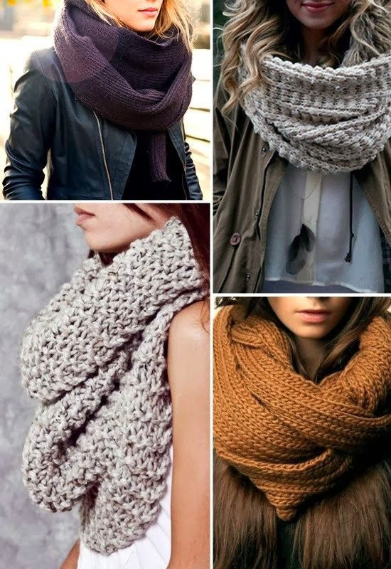 Cozy Fall Infinity Scarves