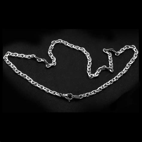 Platinum Cable Link Chain