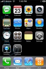 Apple iPhone screenshot