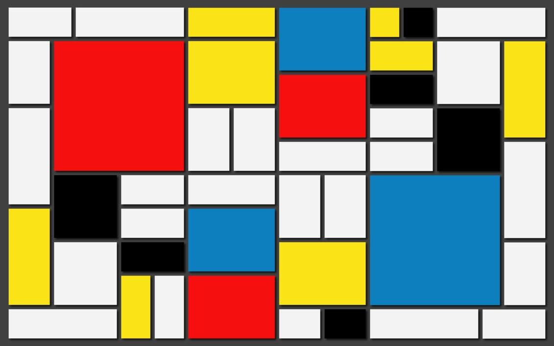 Resultado de imagem para obras de Mondrian