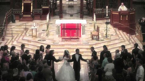 Wedding Video Sacramento Cathedral of the Blessed