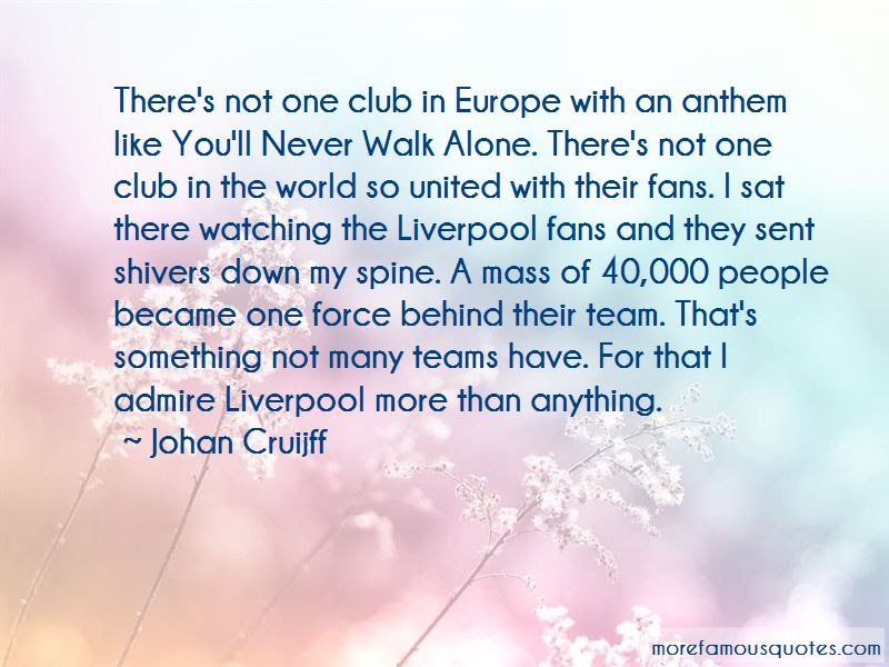 Never Walk Alone Quotes Top 44 Quotes About Never Walk Alone From