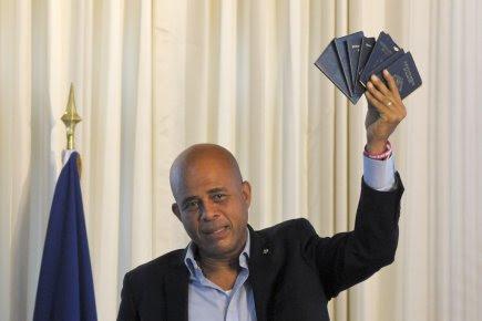Le président Michel Martelly a présenté au total... (Photo: Swoan Parker, Reuters)
