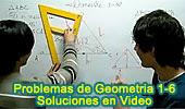 Solución de Problemas de Geometría en Video.