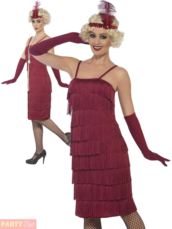 ladies 1920s charleston flapper costume adults gatsby