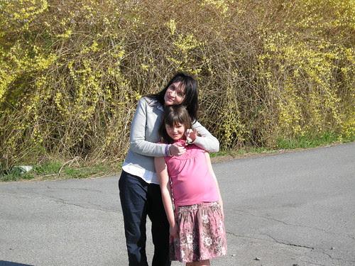 with my beautiful emma