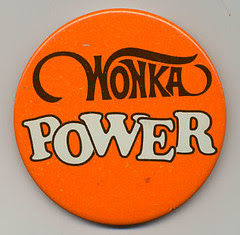 Willy Wonka promo button