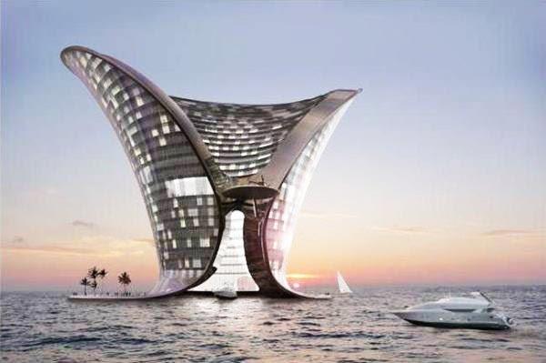 perierga.gr - 10 φουτουριστικά projects ξενοδοχείων!