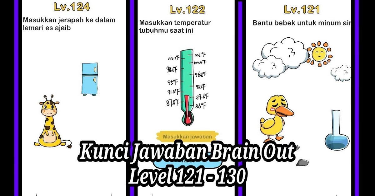 Jawapan Brain Out Level 131 | Anirasota