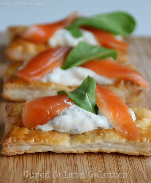 Cured Salmon Galettes 1