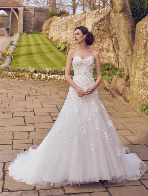 Phoenix Gowns 17044 Lace And Tulle Ball Gown Ivory
