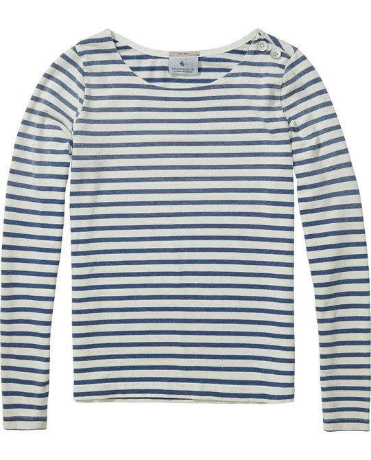 Maison Scotch Breton Stripe Sweater