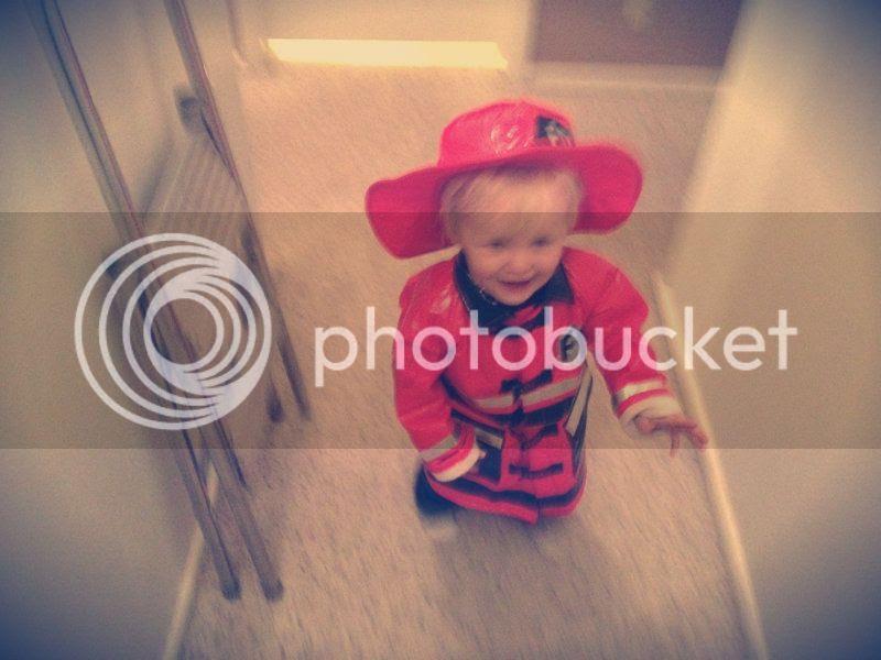 blurry fireman