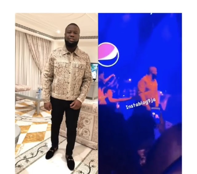 Security Removes Hushpuppi From The Stage As Wizkid Performs