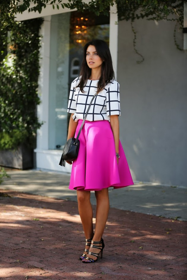 16 outfit ideas with a midi skirt  fashionsy