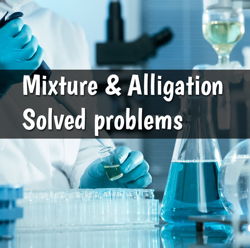 Image result for mixture and alligation