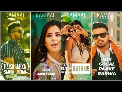Kamaal Full Screen Whatsapp Status | Uchana Amit ft. Badshah | Alina