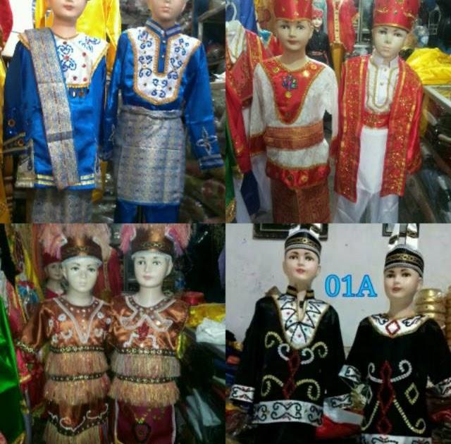 Macam Macam Gambar Pakaian Adat Di Indonesia - Baju Adat ...