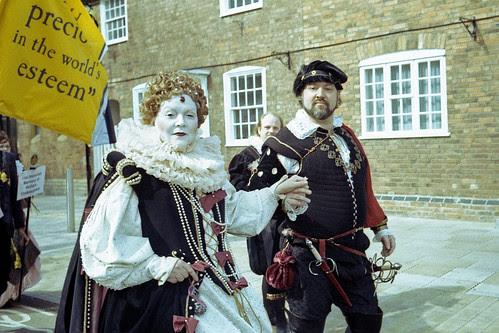 Shakespeare's Birthday Parade by pho-Tony
