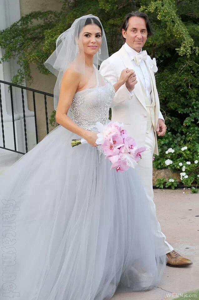 Grey wedding dress -- CLICK here for your Dream Wedding Dress and Fashion Gown! https://www.etsy.com/shop/Whitesrose?ref=si_shop