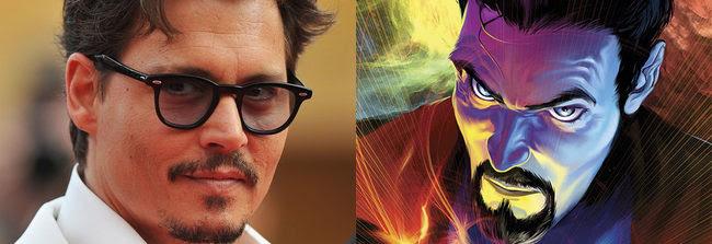 Johnny Depp y el Doctor Extraño