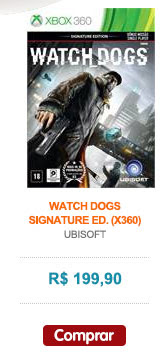 WATCH DOGS - SIGNATURE ED. (X360)